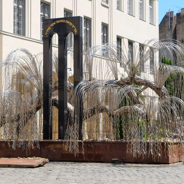 Tree of Life in the Memorial Garden of the Great Synagogue, Budapest, Hungary