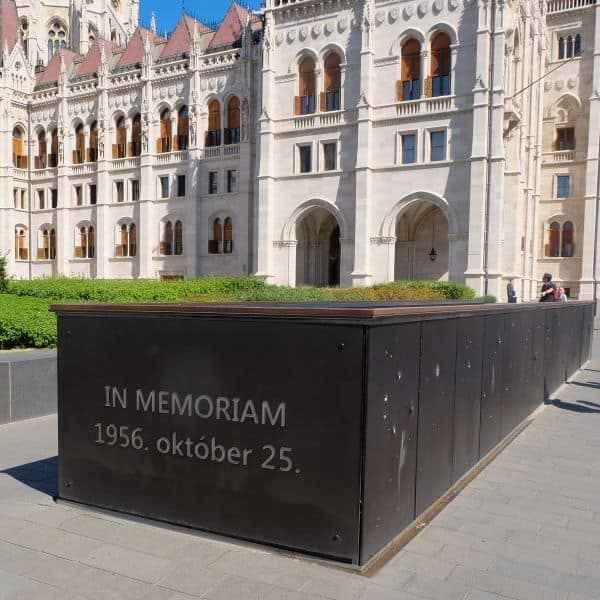 Kossuth Square Massacre memorial, Kossuth Square, Budapest, Hungary