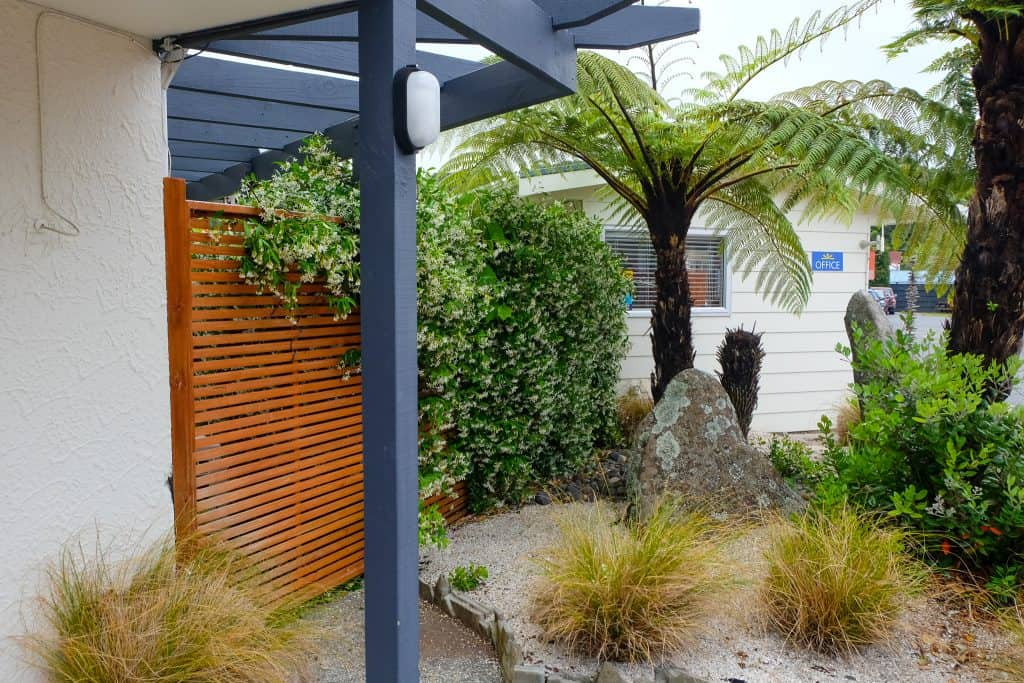 Landscaping Averill Court Motel, Paihia, New Zealand