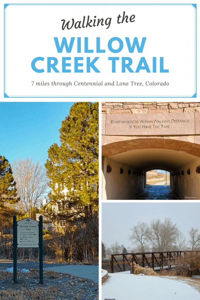 pinterest pin for the Willow Creek Trail