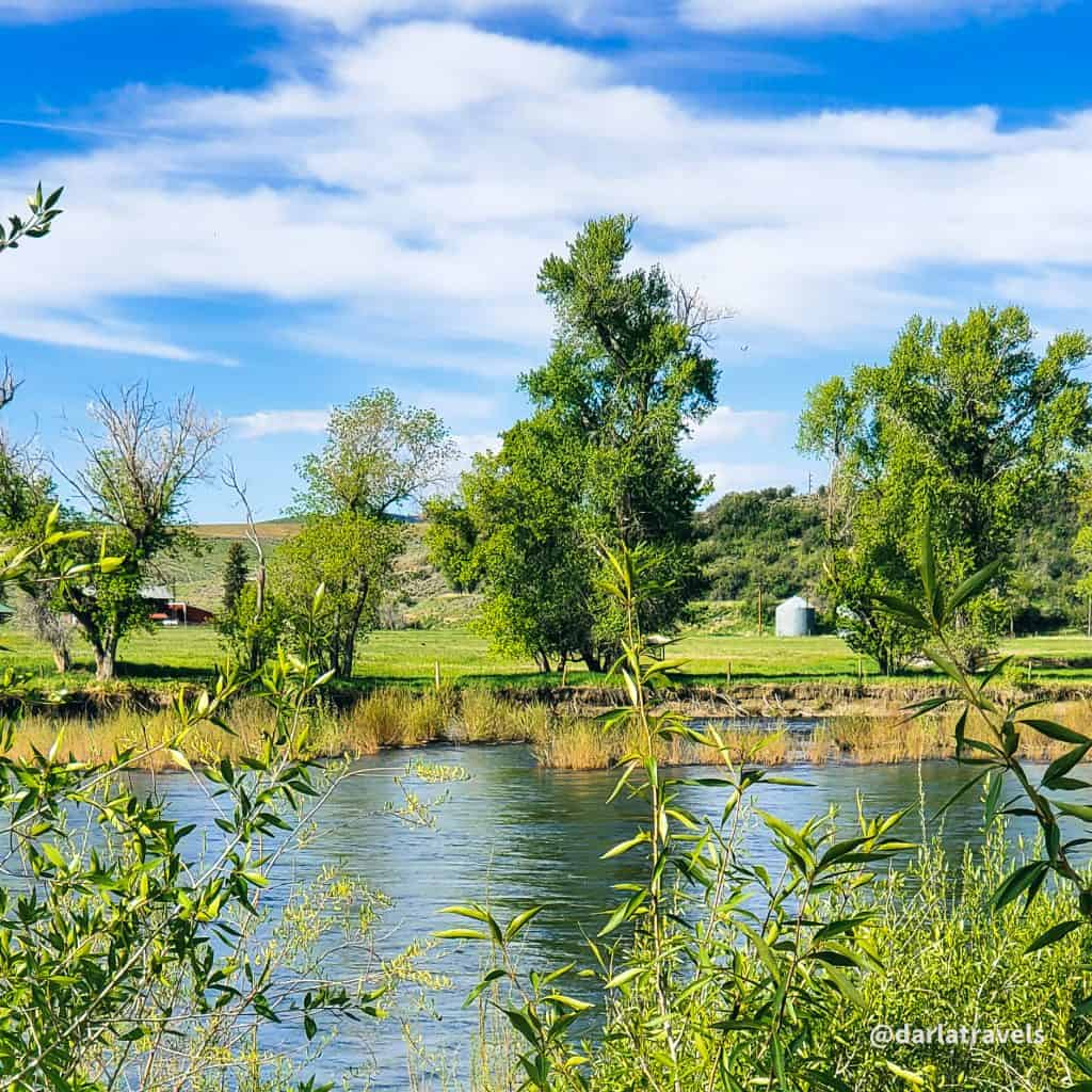 Yampa River seen from Yampa River State Park