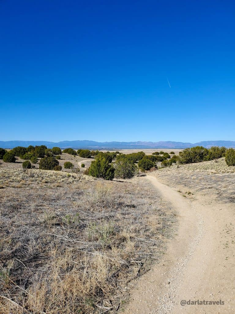 The Arkansas Point Trail in Lake Pueblo State Park