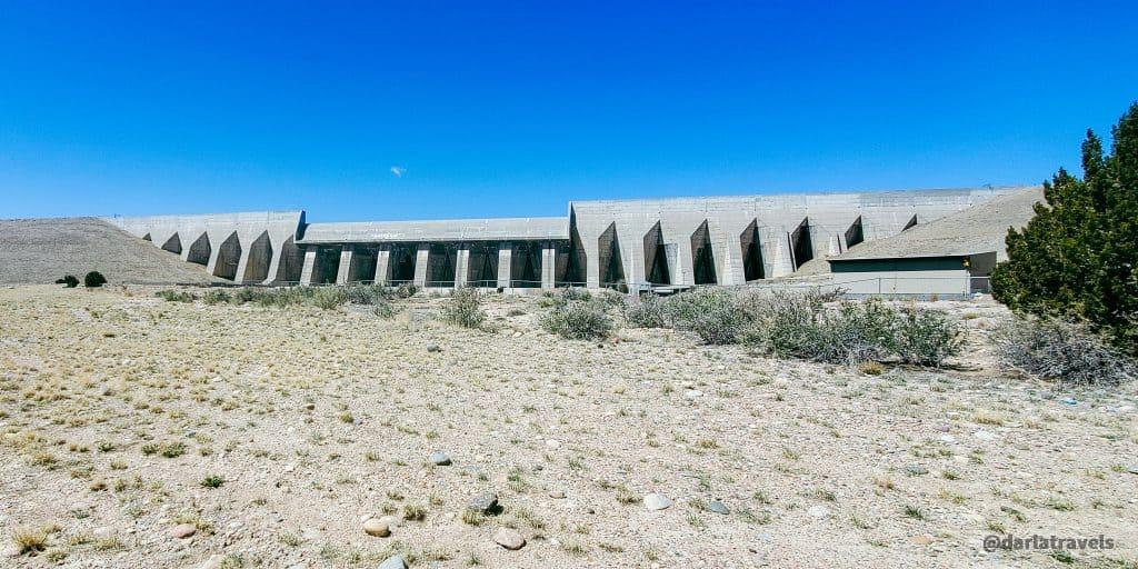 Pueblo Dam in Lake Pueblo State Park